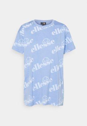 UNIDO TEE - T-shirts med print - light blue