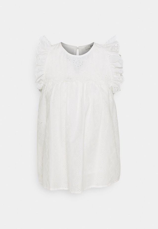 BLOUSE - T-shirt con stampa - off white