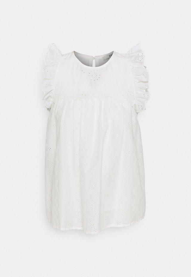 BLOUSE - Printtipaita - off white