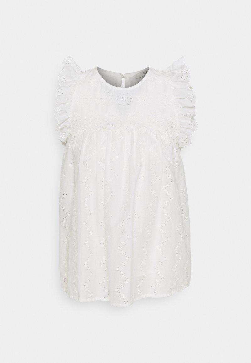 edc by Esprit - BLOUSE - T-shirt print - off white