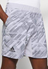 adidas Performance - PRINTED SHORT - Sports shorts - grey - 5