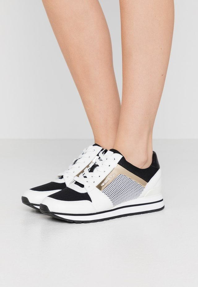 BILLIE TRAINER - Sneakers basse - optic white/black