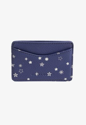 CELESTIAL STAR  - Business card holder - blue