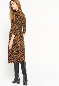 LolaLiza - Jersey dress - brown - 2