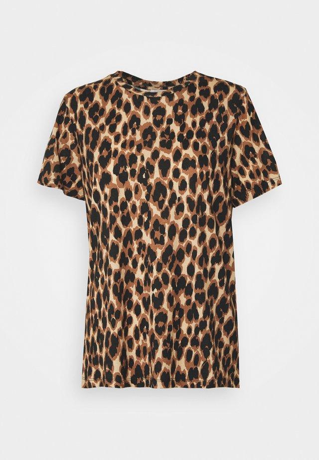 CUBRA - T-shirt con stampa - tan