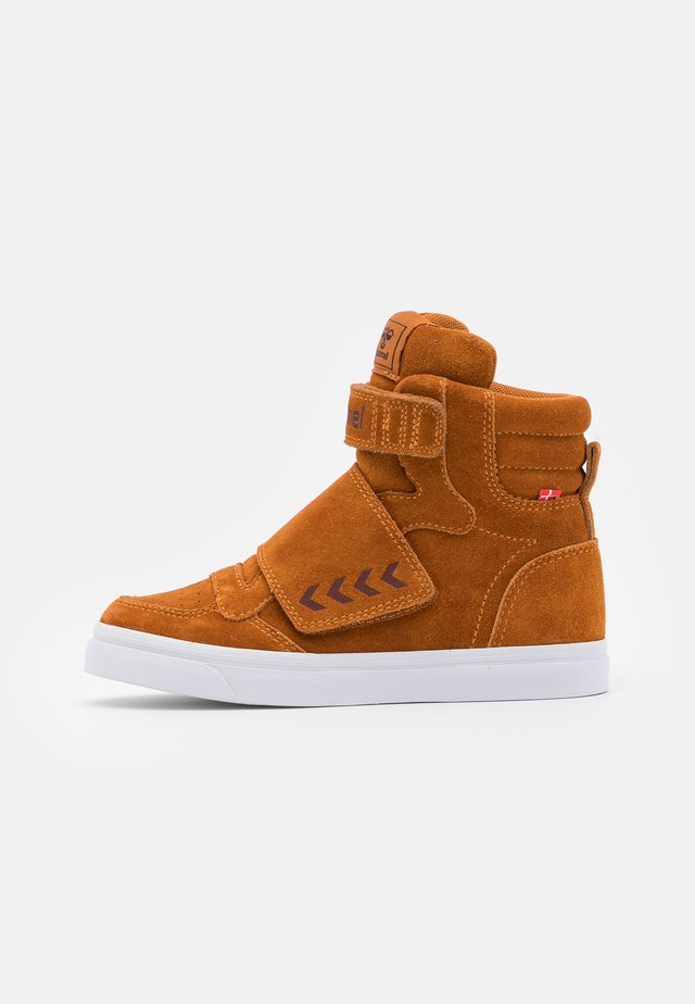 STADIL TONAL JR - High-top trainers - pumpkin spice
