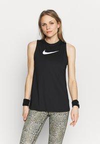 Nike Performance - TANK OPEN - Treningsskjorter - black/white - 0