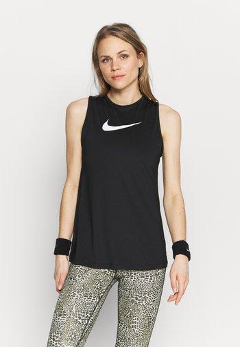 TANK OPEN - T-shirt de sport - black/white