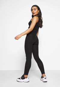 Even&Odd Petite - 2 PACK  - Legginsy - black/black - 3