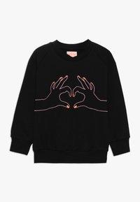 WAUW CAPOW by Bangbang Copenhagen - LOVE - Sweatshirt - black - 0