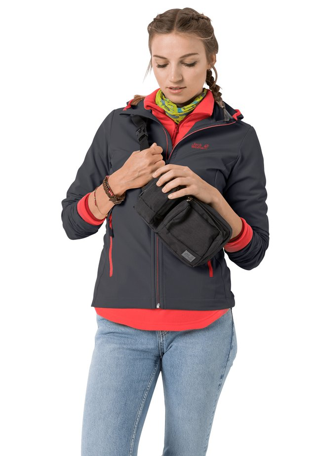 Light jacket - ebony