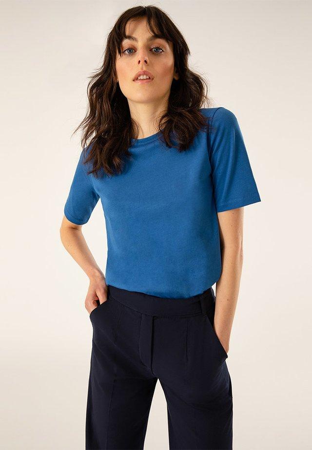T-shirt basic - brilliant blue