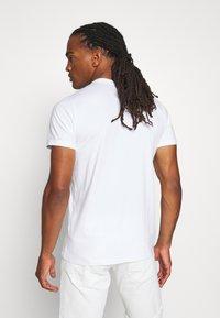 Hollister Co. - HENLEY 3 PACK - Basic T-shirt - white/navy/black - 2