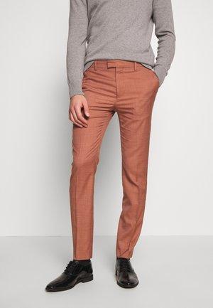 DAX CAFE - Spodnie garniturowe - brown