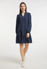 usha - Day dress - marine - 1