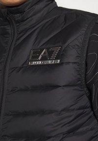 EA7 Emporio Armani - Waistcoat - black - 5