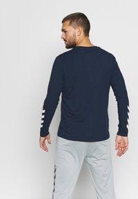 Hummel - HMLSIGGE - Long sleeved top - black iris - 2
