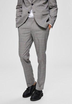 Pantaloni eleganti - light gray
