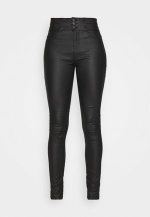 ONLORLEEN ULTRA ROCK PANT - Trousers - black