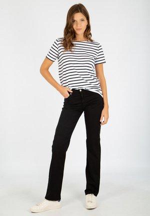 YOLE - PANTALON REGULAR - Trousers - noir