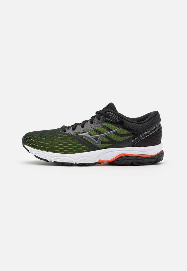 WAVE PRODIGY 3 - Scarpe running neutre - phantom/mid gray/orange