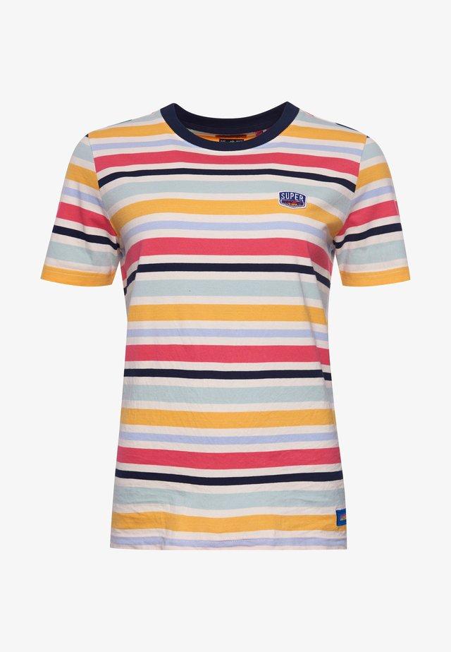 CALI SURF - T-shirt print - coastal stripe