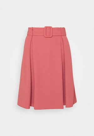 RIMIRAS - A-line skirt - medium red