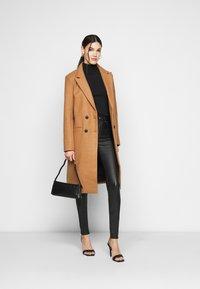 ONLY Tall - ONLOPTION SUPER COAT  - Jeans Skinny Fit - black - 1