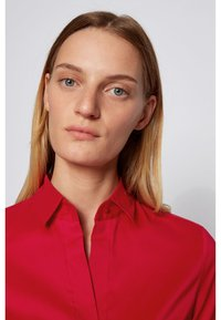 BOSS - BASHINA - Button-down blouse - red - 3