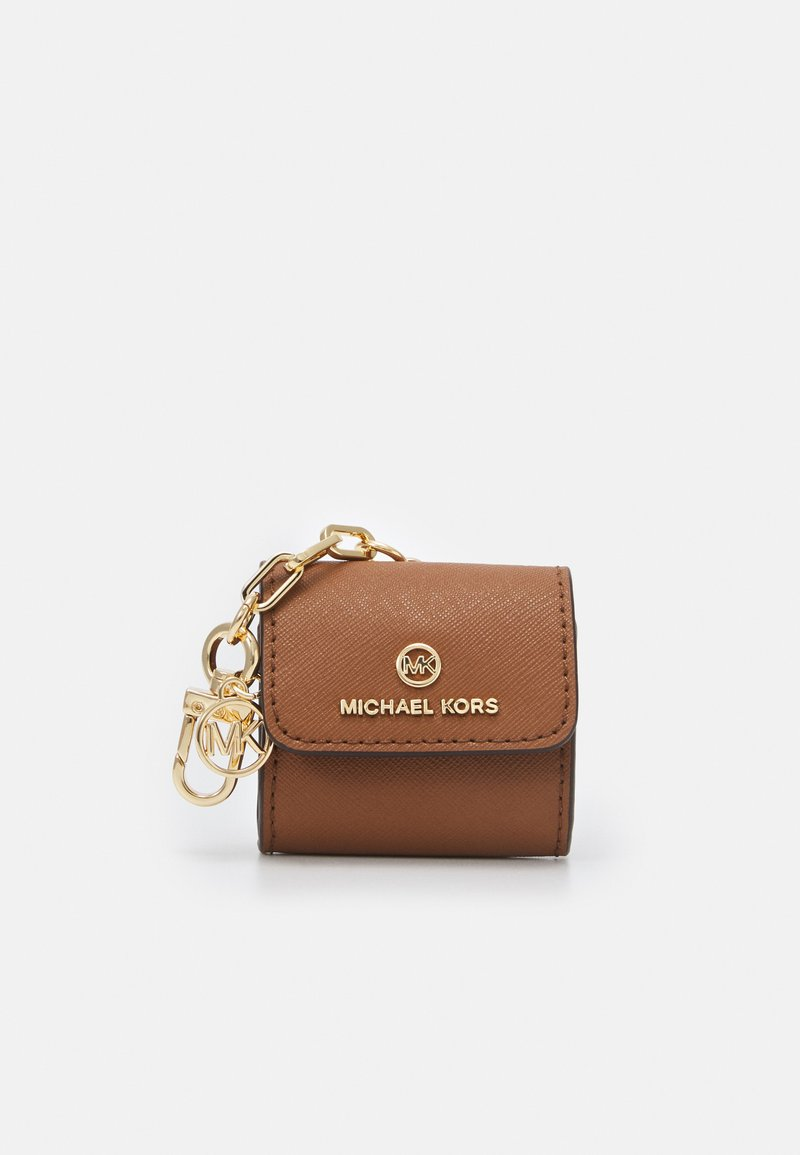MICHAEL Michael Kors - TRAVEL ACCESSORIES CLIPCASE FOR AIRPODS - Avainkotelo - brown
