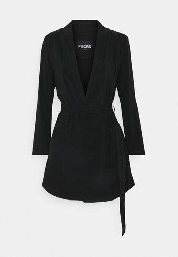 PCCALIA COATIGAN - Short coat - black