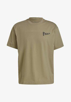 PARLEY - T-shirt z nadrukiem - green