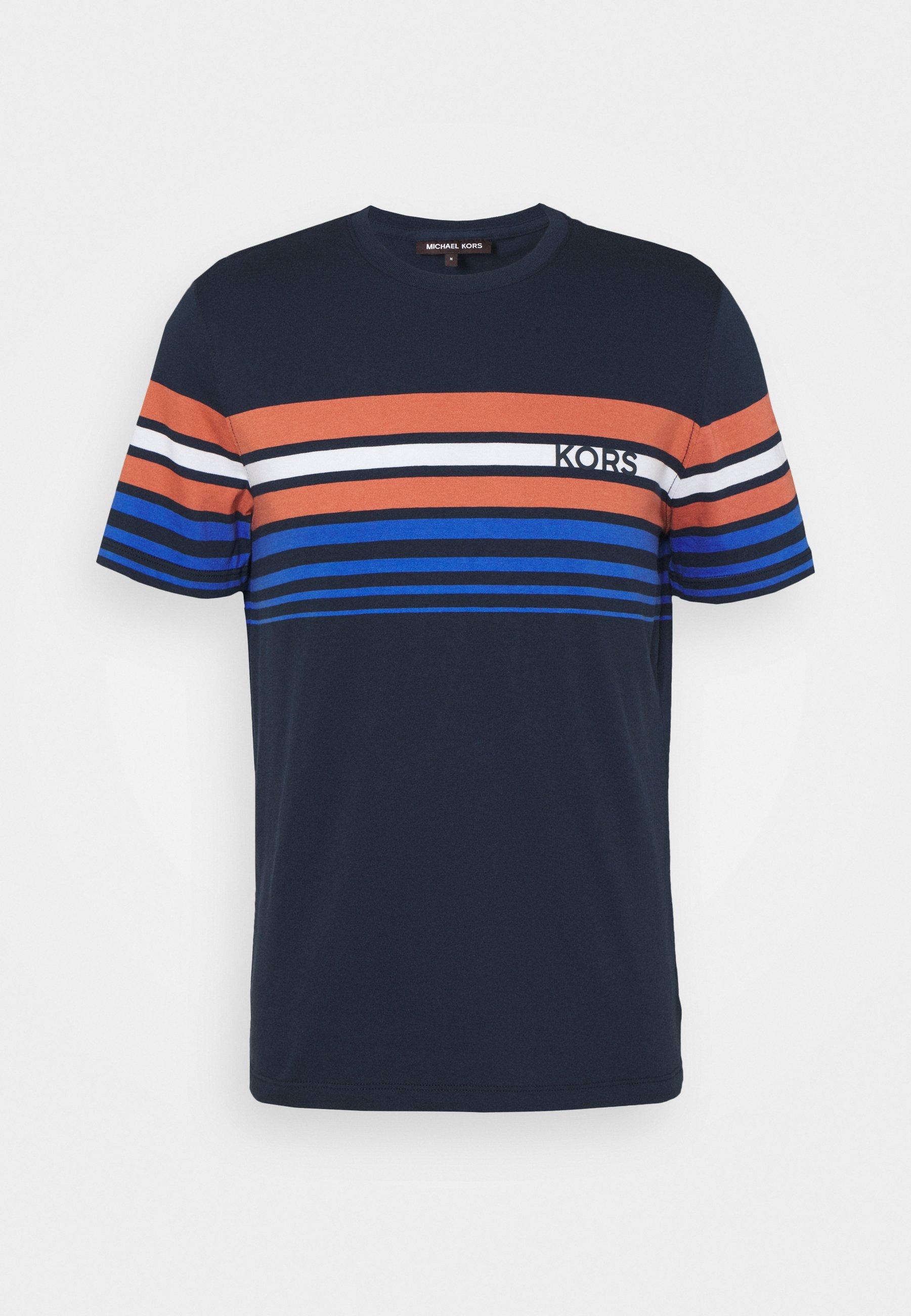Men SUNSET STRIPE TEE - Print T-shirt