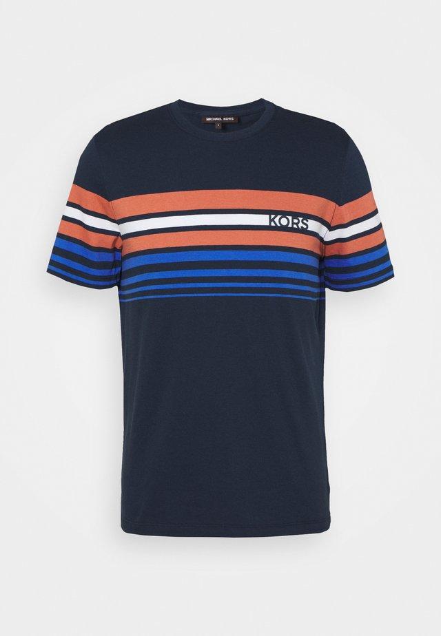 SUNSET STRIPE TEE - T-shirt print - midnight