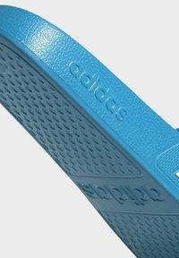 adidas Originals - ADILETTE AQUA SWIM - Kapcie - blue - 6