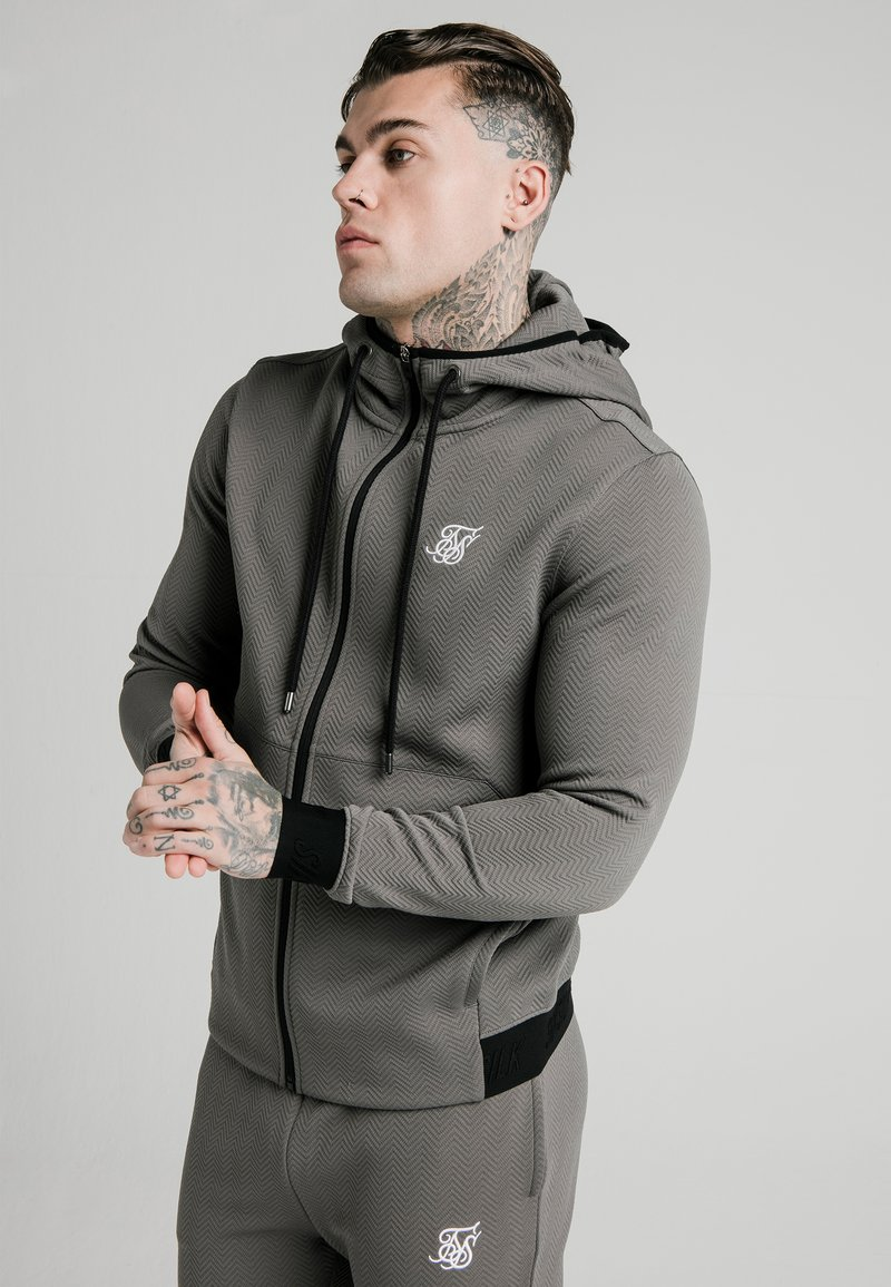 SIKSILK - Trainingsvest - smoked grey