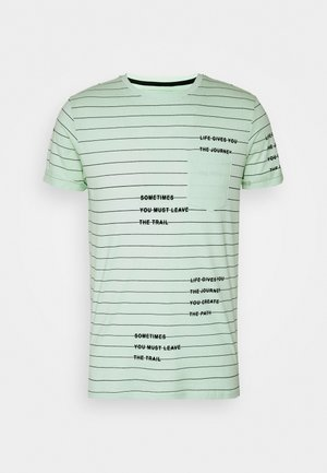 ECHOLS - T-shirt print - pastel green