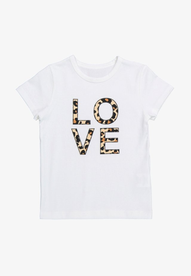 LOVE - T-shirt imprimé - white