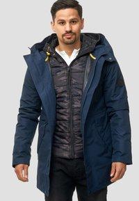 INDICODE JEANS - Winter coat - navy - 4