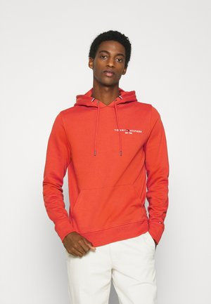 SMALL LOGO HOODY - Sweat à capuche - orange