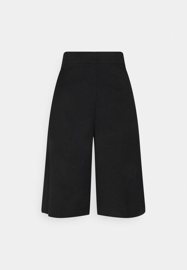 LUNA CULOTTE - Shorts - black dark