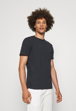 TEE CREW NECK - Print T-shirt - dark grey melange