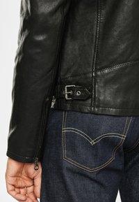 Gipsy - RYLO LAKEV - Leather jacket - black - 5