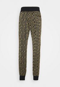 Versace Jeans Couture - TECHNICAL  - Tracksuit bottoms - nero/oro - 1