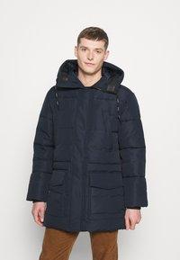 TOM TAILOR DENIM - Winter coat - sky captain blue - 0