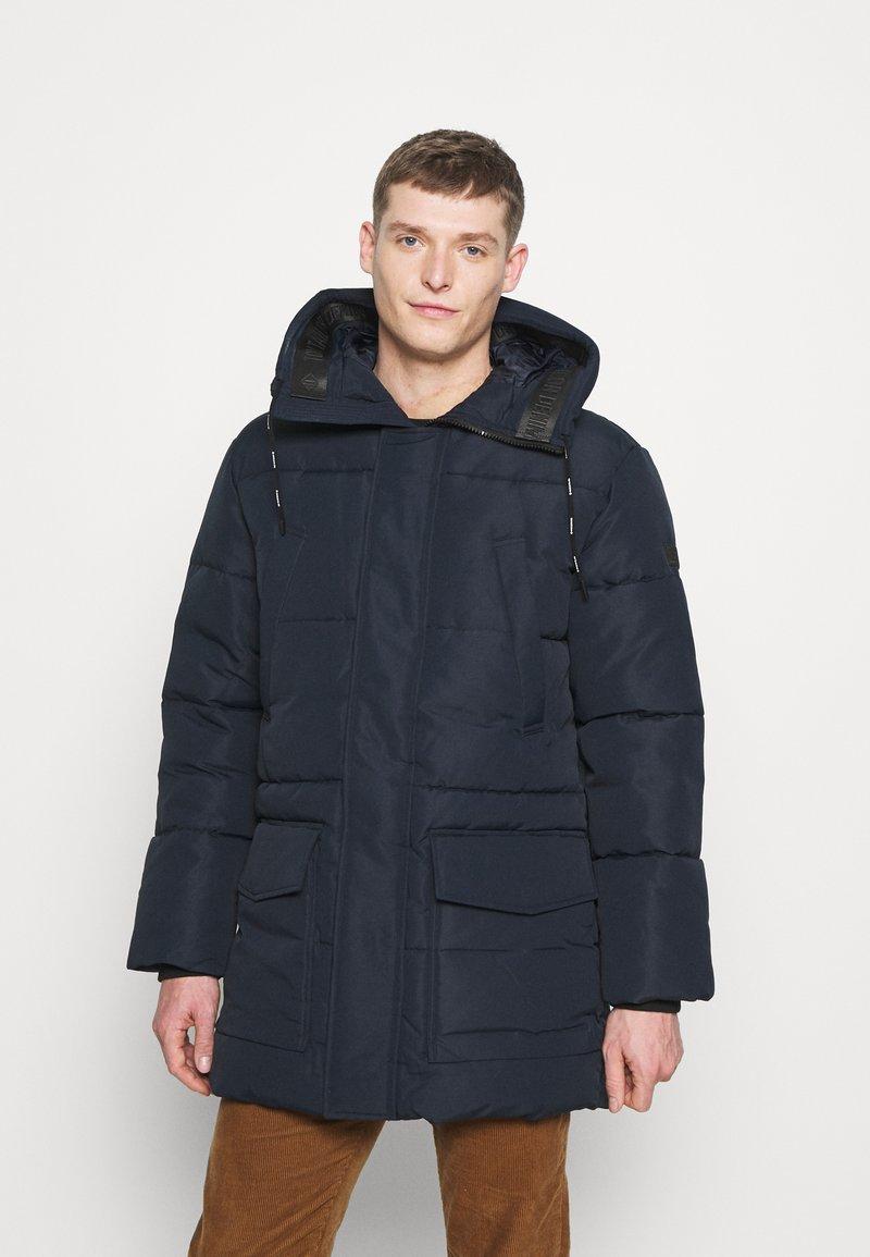 TOM TAILOR DENIM - Winter coat - sky captain blue