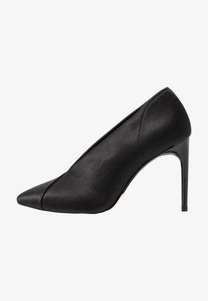 SLIP-ON - High heels - black
