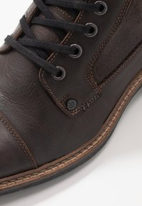 Bullboxer - Lace-up ankle boots - dark brown - 5