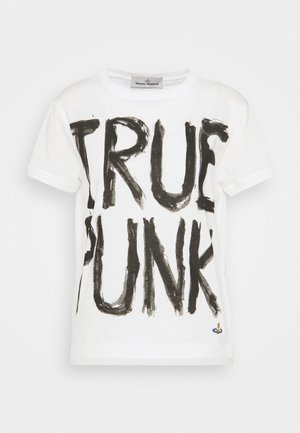 LADY PUNK - Print T-shirt - white