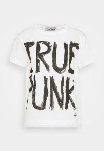 LADY PUNK - T-shirts med print - white
